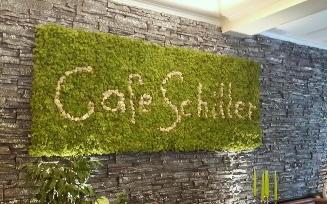 Moosbild mit Rentiermoos – Cafe Schiller in Traunstein