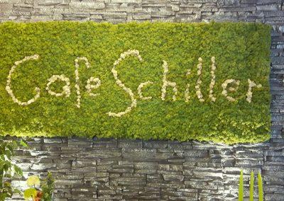 Ladenbau - Restaurant - Moosbild - Rentiermoos - Cafe Schiller