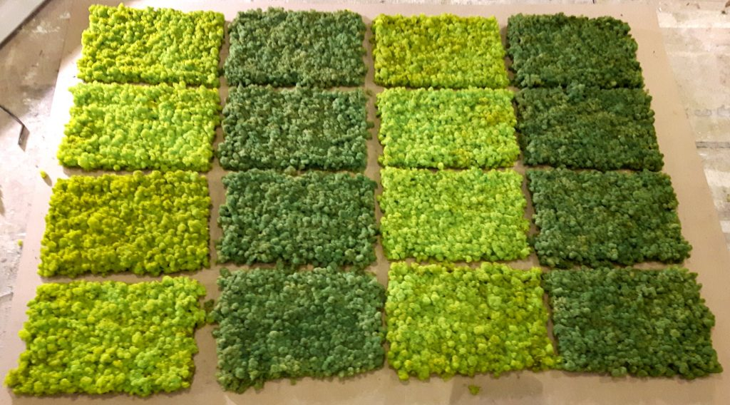 EasyMoos - Moospaneelen - Frühlingsgrün und Mittelgrün